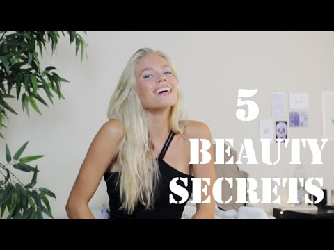 5 Beauty Secrets (Healthy & Natural Look)