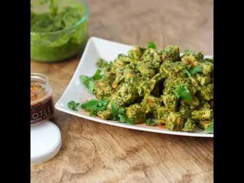 Roasted Jalapeno Cilantro Pesto Chicken Salad