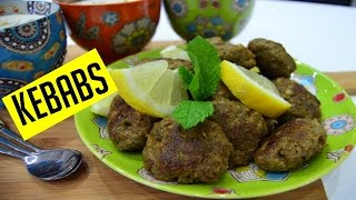 How to make Kebabs   Eid Ramadan Recipes 2017 Indian Cooking Recipes   Cook with Anisa