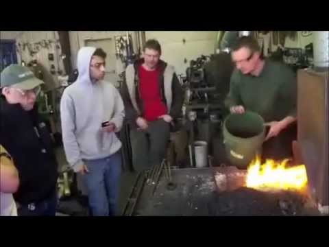 Coal Forge Techniques by Dereck Glaser, New England School of Metalwork