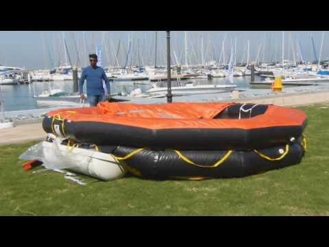 Sailing Liferaft Ejection - Dubai To Muscat Race Atari7