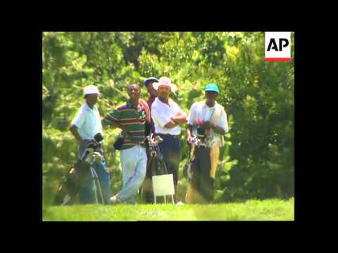 SOUTH AFRICA: BLACK TOWNSHIP RESIDENTS CREATE OWN GOLF COURSE