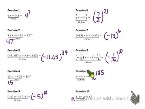 8th Grade Math Module 1 Lesson 1 v.3
