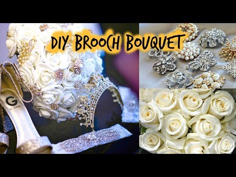 DIY Bridal Brooch Bouquet