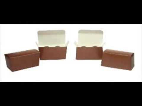 Chocolate Truffle Boxes for Wedding Favors