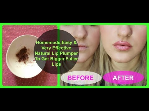 HOW TO GET BIGGER LIPS (in 2 Minutes) | DIY NATURAL LIP PLUMPING WITHOUT MAKEUP / hindi /Neha Beauty