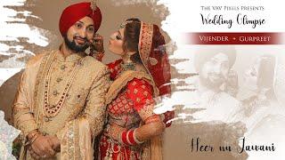 Heer Nu Jawani l VIJENDER & GURPREET l Punjabi Wedding Film l VaV Pixels | Kala Shah Kala