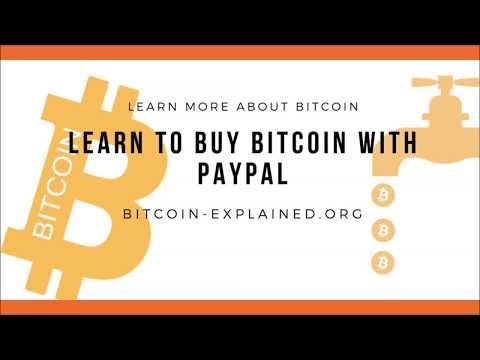 How to Buy Bitcoins with PayPal