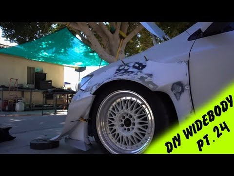 DIY Widebody Fender Flares out of a Rocket Bunny Kit Pt.24 | The Best Widebody Out There
