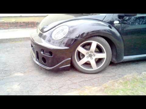 1.8t new beetle buddyclub front bumper