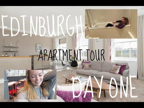 Edinburgh Apartment Tour! || Day One