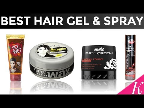 8 Best Hair Gel / Hair Spray for Men in India with Price