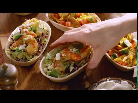 New Tortilla Bowl Dinner Kit by Old El Paso