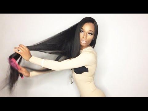 West Kiss Hair ( Aliexpress ) Brazilian Straight 40