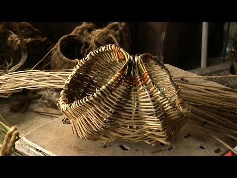 Willow Weaving | Tutorial How To Weave A Willow Easter Egg Basket