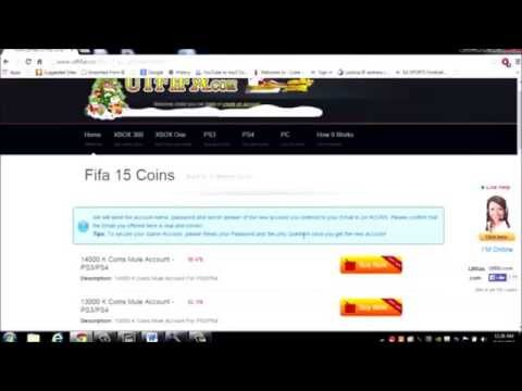 NEW FIFA 15 COIN BUYING METHOD + 500K/DAY GUIDE!