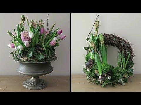 Spring Flower Arrangement With Gemma