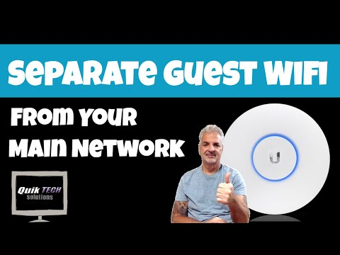How To Separate Your Home Guest Wifi From Your Main Network