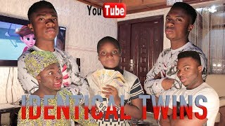 AFRICAN HOME: IDENTICAL TWINS