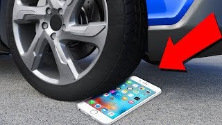 Tire Crushing ???? Crushing Crunchy & Soft Things by Car - iPhone,  Squishy, Toothpaste, & more!