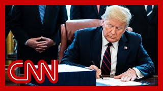 Trump signs historic $2 trillion stimulus bill