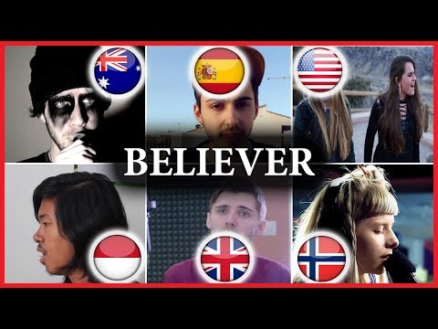 Who sang it better: BELIEVER - Imagine Dragons (Indonesia, USA, UK, Australia, Spain, Norway)