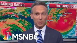 Hurricane Florence Starts To Hit Carolina Coast | Hardball | MSNBC