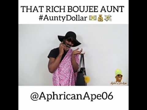 AphricanApe - That Boujee Dollar Aunty [ Skit ] Cover
