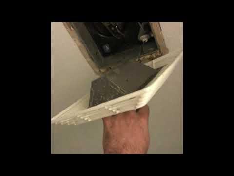 How to fix bathroom vent exhaust fan