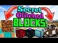 Secret Blocks in Minecraft PE! INCREDIBLE NEW BLOCKS!