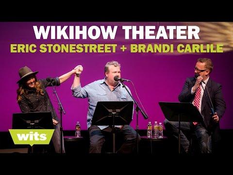Eric Stonestreet and Brandi Carlile - 'WikiHow Theater' - Wits