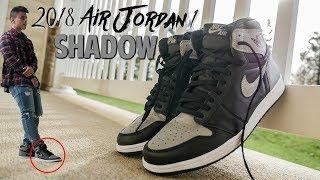 6bb84846300c3 2018 Air Jordan 1 SHADOW Unboxing, Review & On-foot