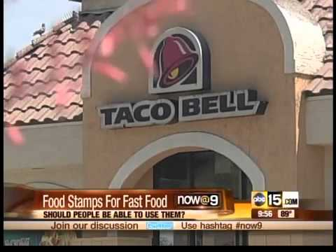 Food stamps for fast food?