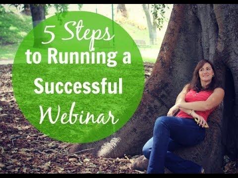 5 Steps to Running a Successful Webinar