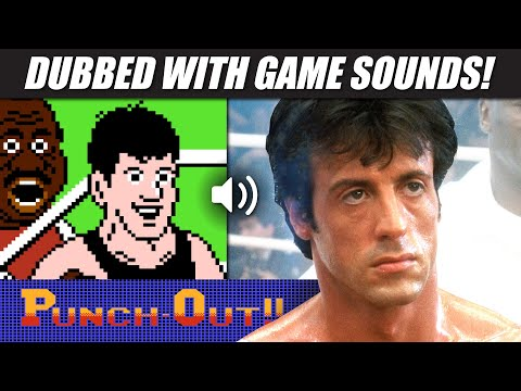 'ROCKY IV' with PUNCH-OUT!! Nintendo (NES) sounds! (#ROCKYsPUNCHOUT)