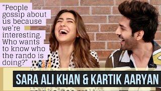 Sara Ali Khan & Kartik Aaryan interview with Rajeev Masand   Love Aaj Kal   Sartik