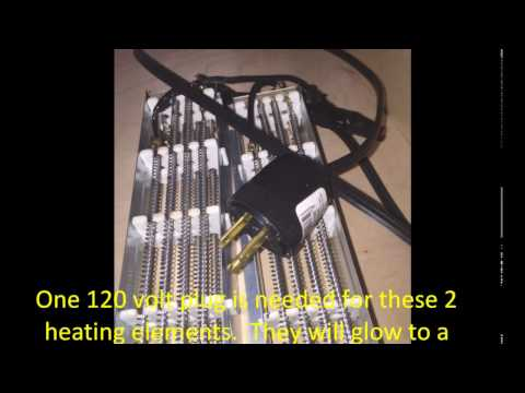DIY Thermoforming Easy Heating Element Solution, No Space Heater