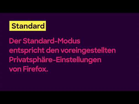 Verbesserte Tracking-Schutz in Firefox gibt mehr Kontrolle über ihre Privatsphäre.