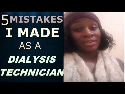 5 mistakes I made as a dialysis Technician😓: DIALYSIS TECHNICIAN