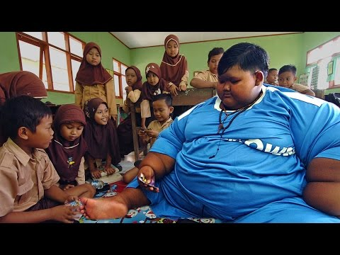 World's Heaviest Kid Loses Weight To Go To School