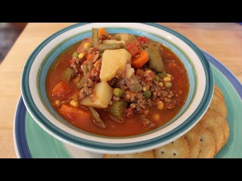 How to Make Southern Vegetable Soup