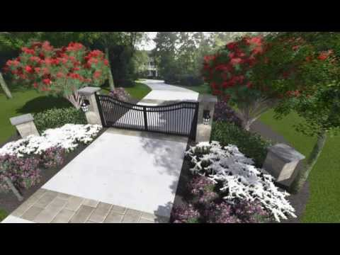 Front Entry Gate Design