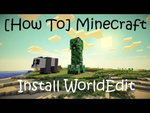 [How To] Install WorldEdit on Minecraft 1.4.7