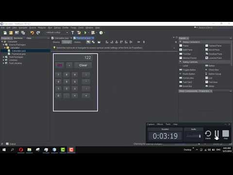 How to make a calculator in NetBeans #4