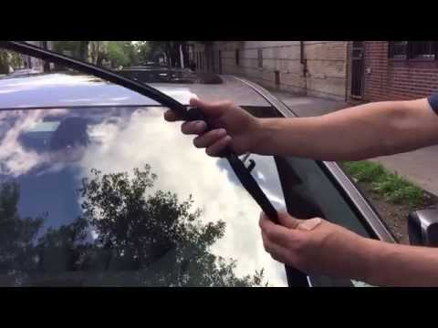 How to replace BMW 5 Series Wiper Blades