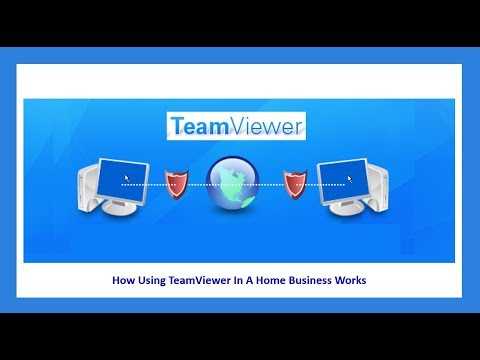 How Using Teamviewer In A Home Business Works