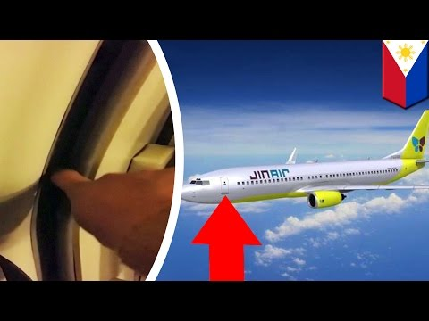 Airline fails: South Korean airline, Jin Air, leaves door open on flight from Cebu - TomoNews