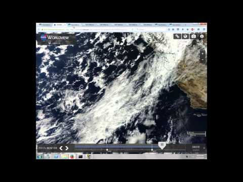 California Rain Suppressed, Drought Maintained, November 8th - 10th, 2015