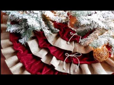 Rustic Christmas Tree Skirts