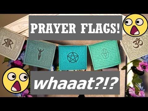 DIY PRAYER FLAGS! WHAAAT?!?!